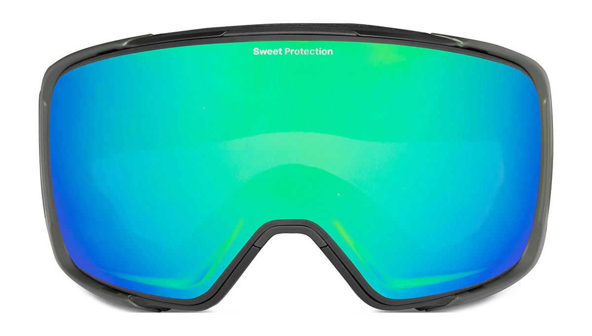 Sweet Protection Interstellar Matte Olive Drab / RIG Emerald Goggles