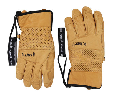 Planks Hunter Leather 5-finger Skihandsker | Planks Clothing
