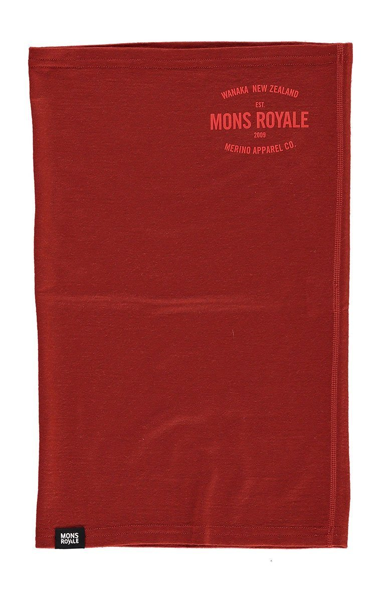 Mons Royale Daily Dose Neck Warmer 2019 Clay Clay 100100-1004-631-OS
