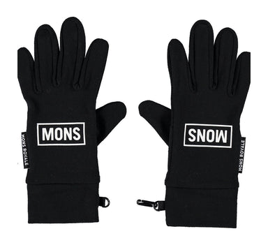 Mons Royale Elevation Handsker 2019 Black Black 100114-1035-001-S
