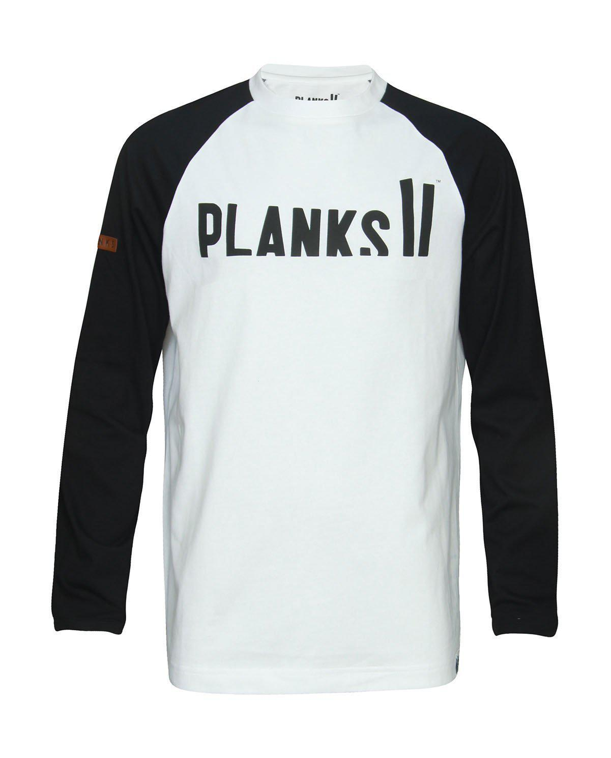 Planks Mountain Supply Co. Langærmet 2018 Small - Blacksnow.dk