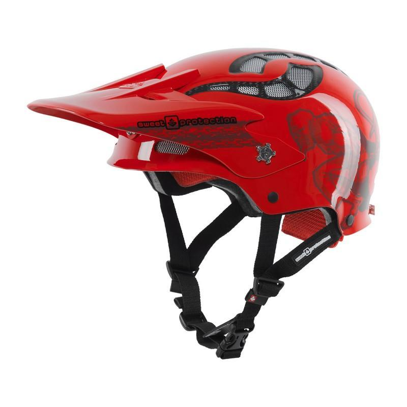Sweet Protection Fixer MTB Hjelm Demon Red - Blacksnow.dk