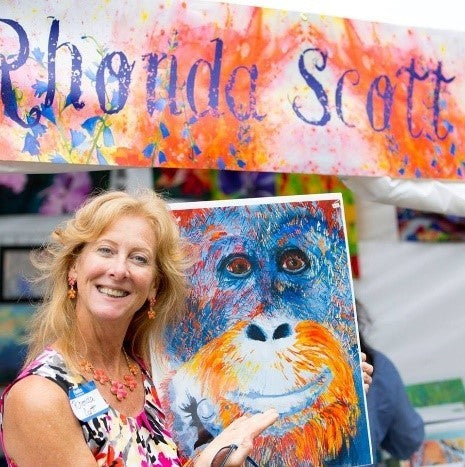 Rhonda Scott Paintings (Multiple Sizes and Prices Available)