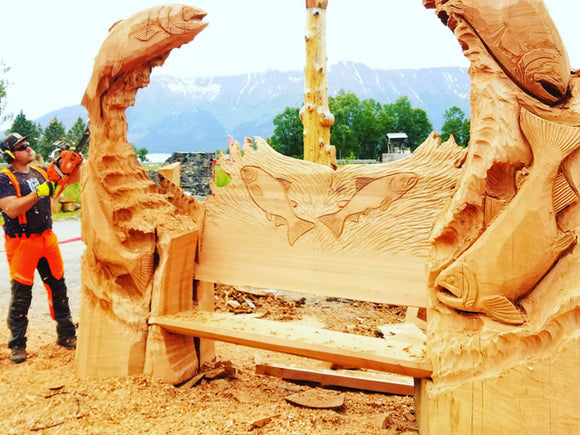 Carvings by Jordan Anderson