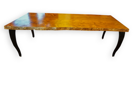 American Walnut Live Edge Dining Table