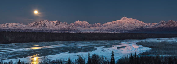 Denali Morning by Ed Boudreau
