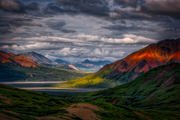 Denali Light by Dan Twitchell