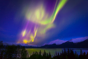Turnagain Arm Aurora by Dan Twitchell