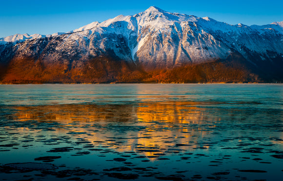 Turnagain Reflections by Dan Twitchell