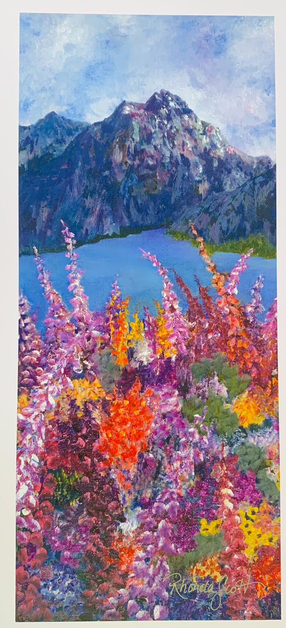 Alaskan Fireweed by Rhonda Scott