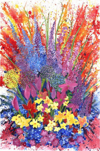 Floral Explosion by Rhonda Scott
