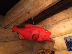 Yelloweye Rockfish Sculpture
