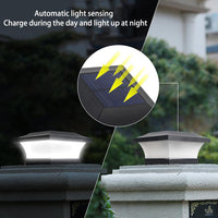Solar Post Lamp - SolarCreed