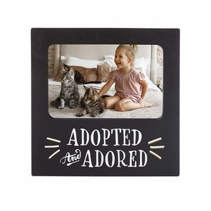 Adopted and Adored Picture Frame