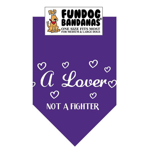A Lover Not a Fighter Bandana