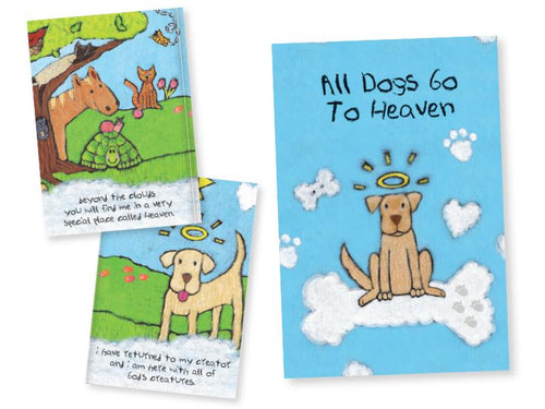 All Dogs Go To Heaven - Pet Card