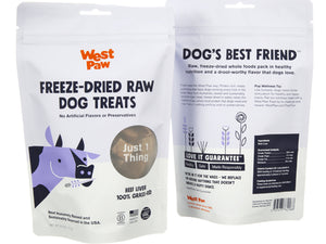 West Paw Single Ingredient Freeze-Dried Raw Treats