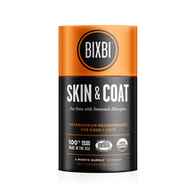 Load image into Gallery viewer, Bixbi Skin & Coat Support Supplement for Dogs & Cats