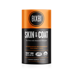 Bixbi Skin & Coat Support Supplement for Dogs & Cats