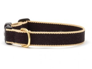 Green Market Black with Tan Dog Collar