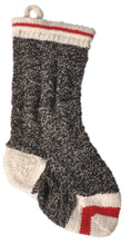 Load image into Gallery viewer, Hand Knit Wool Christmas Stocking