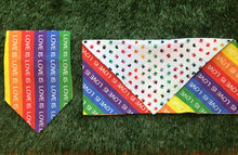 Load image into Gallery viewer, Love is Love Bandana (Double Sided)
