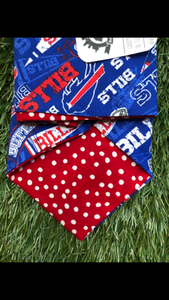 Buffalo Bills Bandana (Double sided)