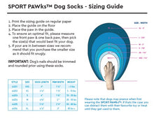 Load image into Gallery viewer, Sport Pawks - Dog Socks