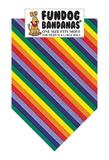 Rainbow Stripes Bandana