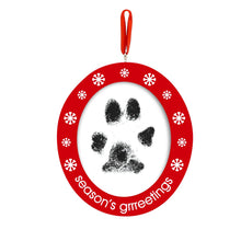 Load image into Gallery viewer, Pawprints Photo Ornament