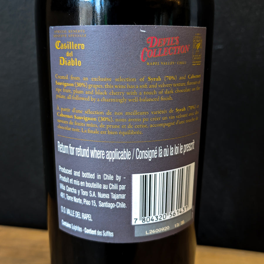 Casillero del Diablo Reserva Devil's Collection Red