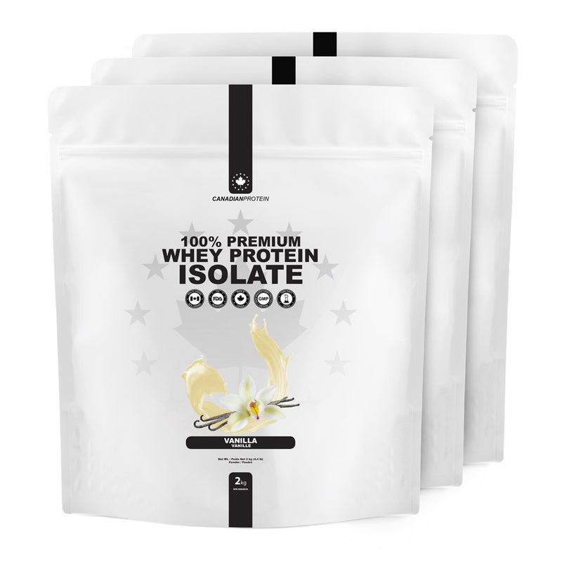 100% Premium Whey Protein Isolate