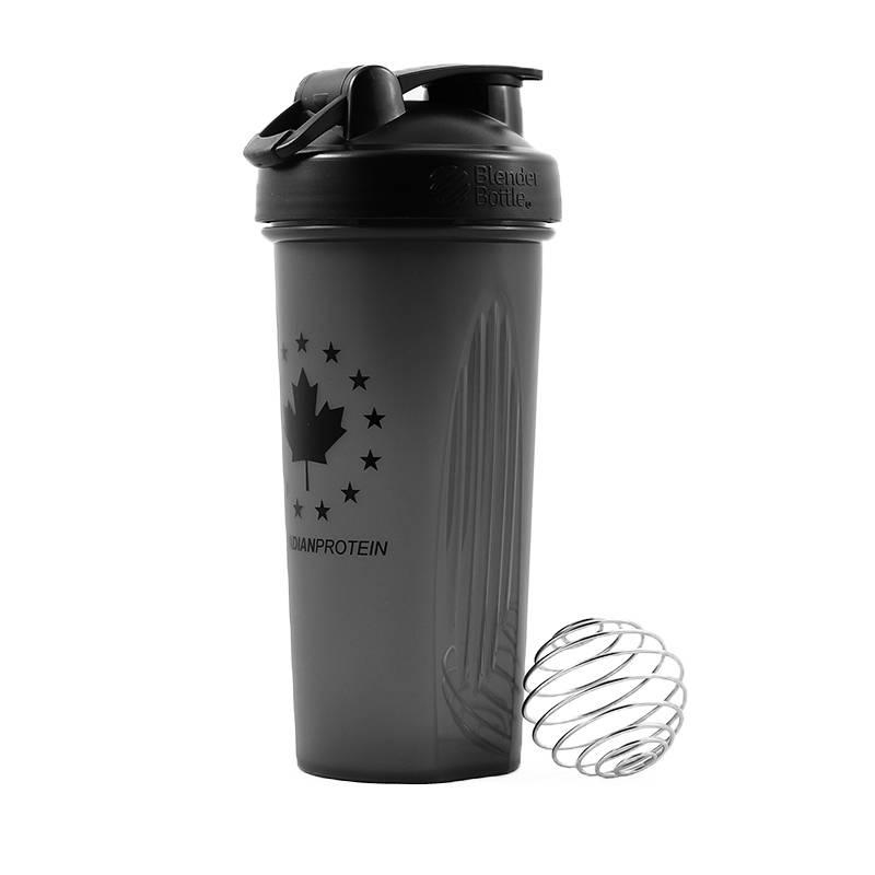 Black Blender Bottle Shaker Cup
