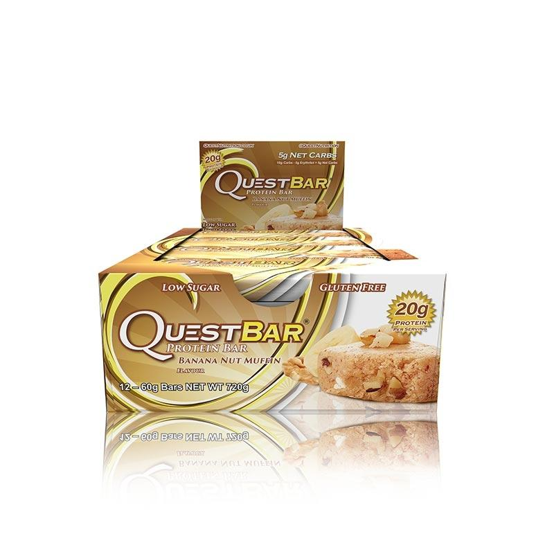 Quest Bars - Banana Nut Muffin (All Natural)