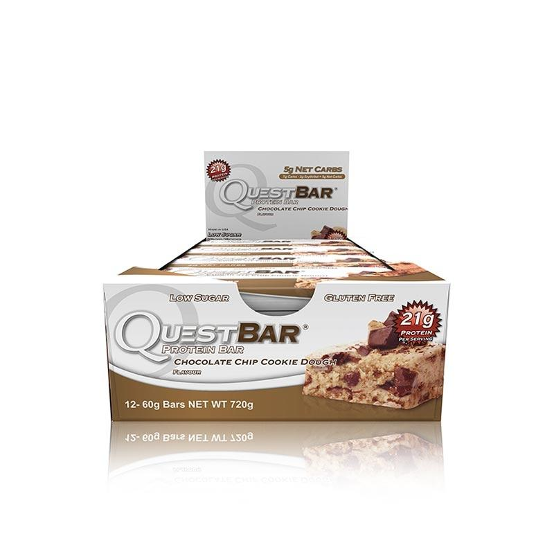 Quest Bars - Chocolate Chip Cookie Dough