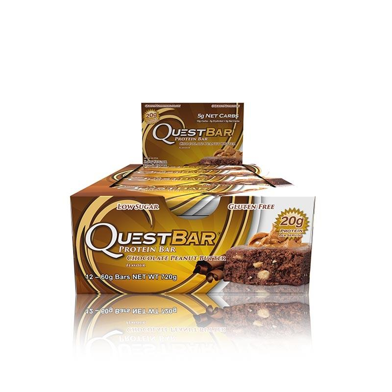 Quest Bars - Chocolate Peanut Butter