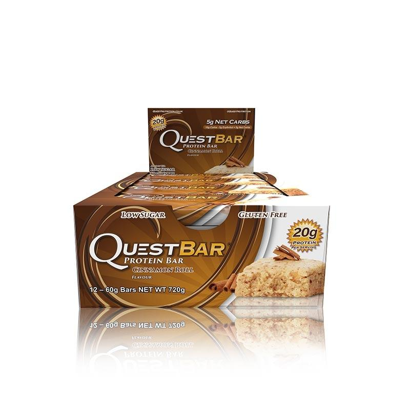 Quest Bars - Cinnamon Roll
