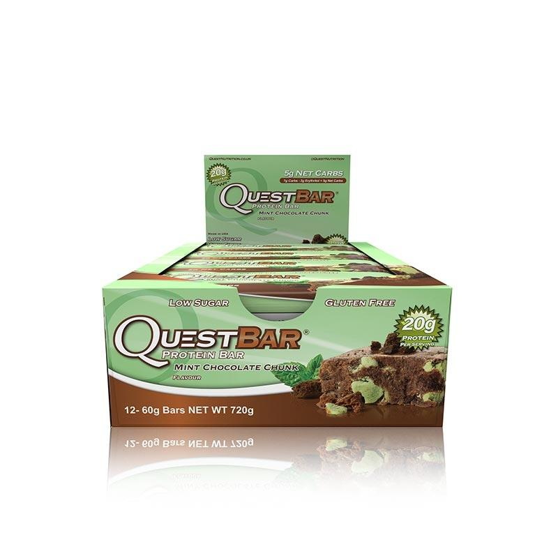 Quest Bars - Mint Chocolate Chunk