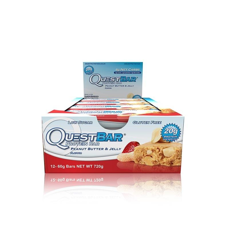 Quest Bars - Peanut Butter & Jelly
