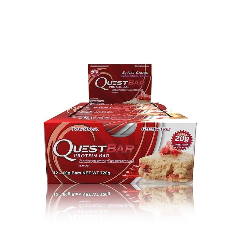 Quest Bars - Strawberry Cheesecake