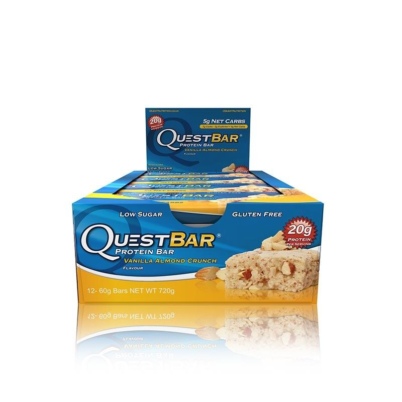 Quest Bars - Vanilla Almond Crunch
