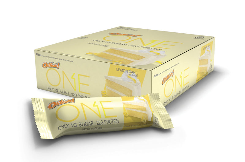 OhYeah! ONE Bars - Lemon Cake