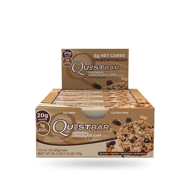 Quest Bars - Oatmeal Chocolate Chip