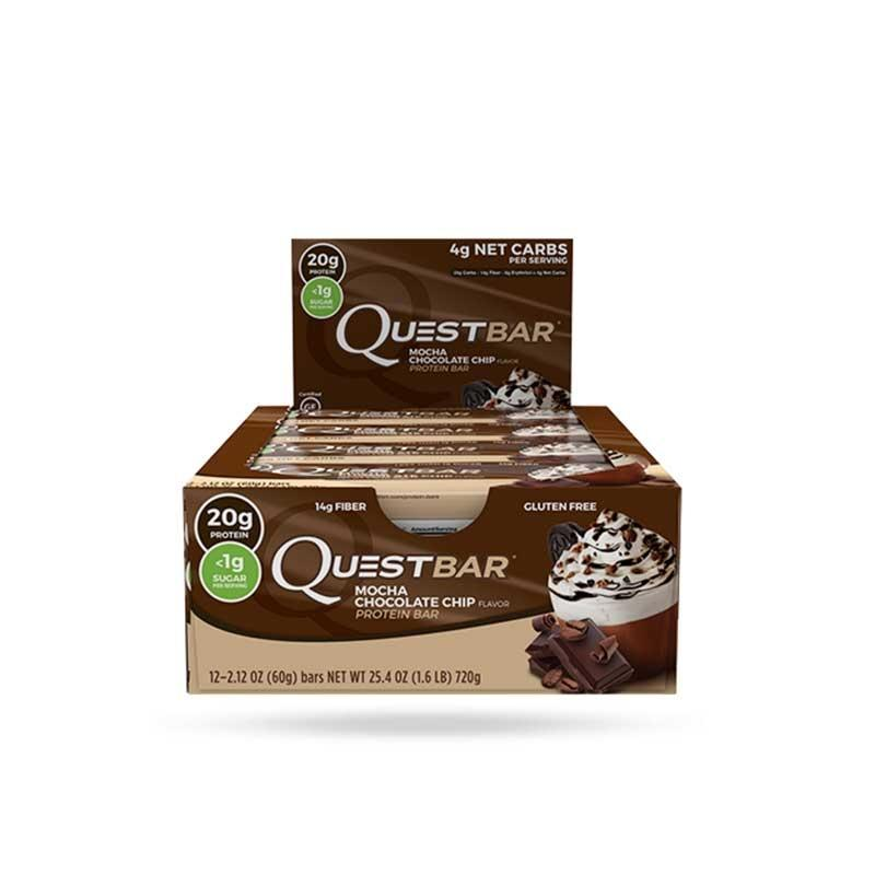 Quest Bars - Mocha Chocolate Chip