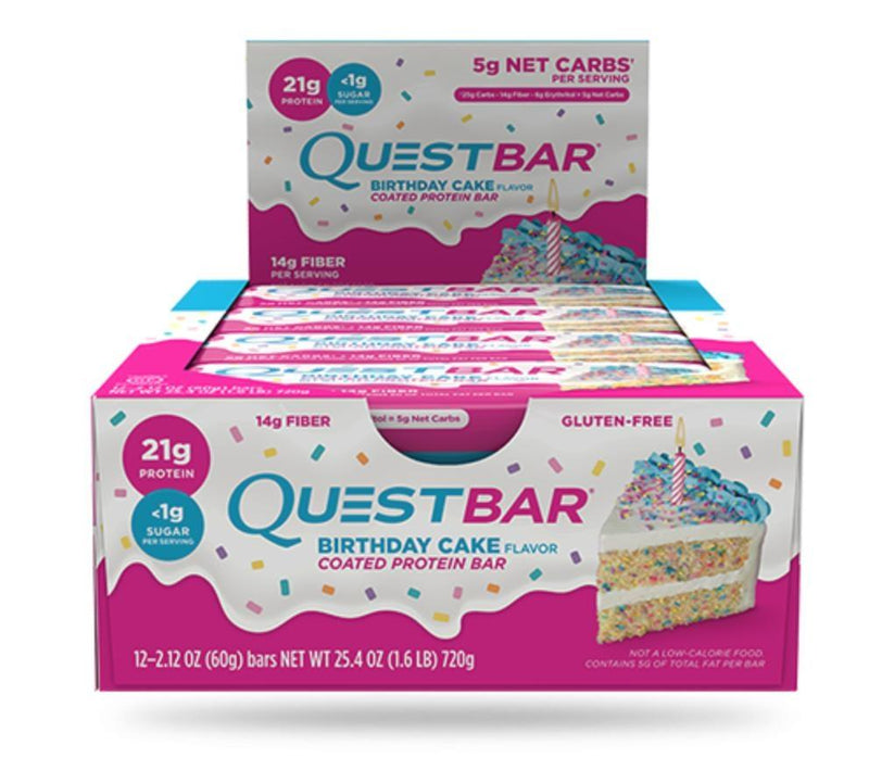 Quest Bars - Birthday Cake