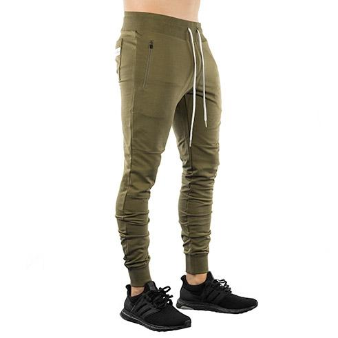 Classic Tech Joggers (Military Green)