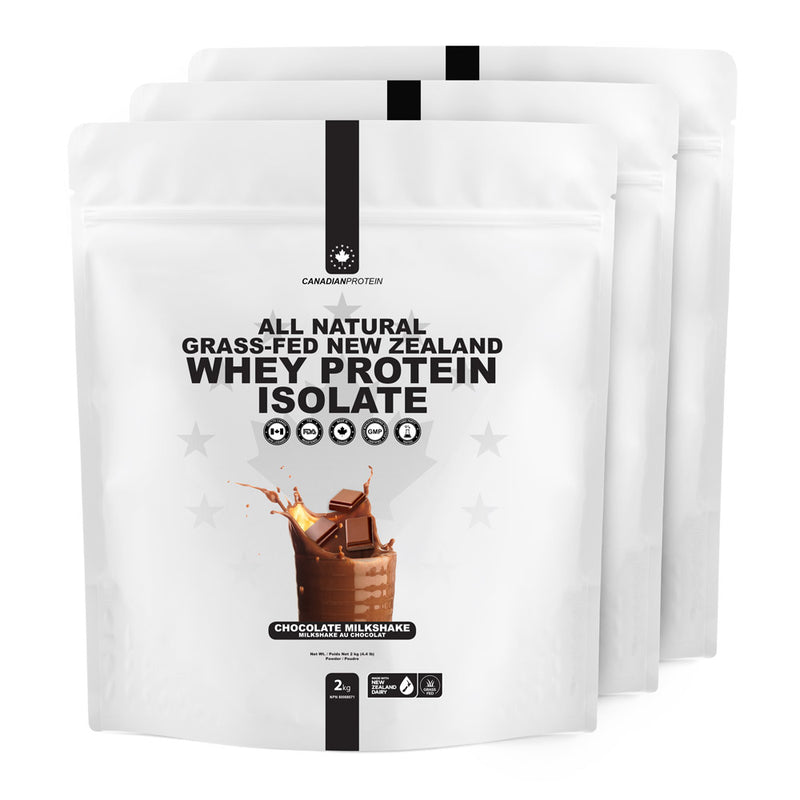 All Natural Grass-Fed New Zealand Whey Protein Isolate (Stevia)