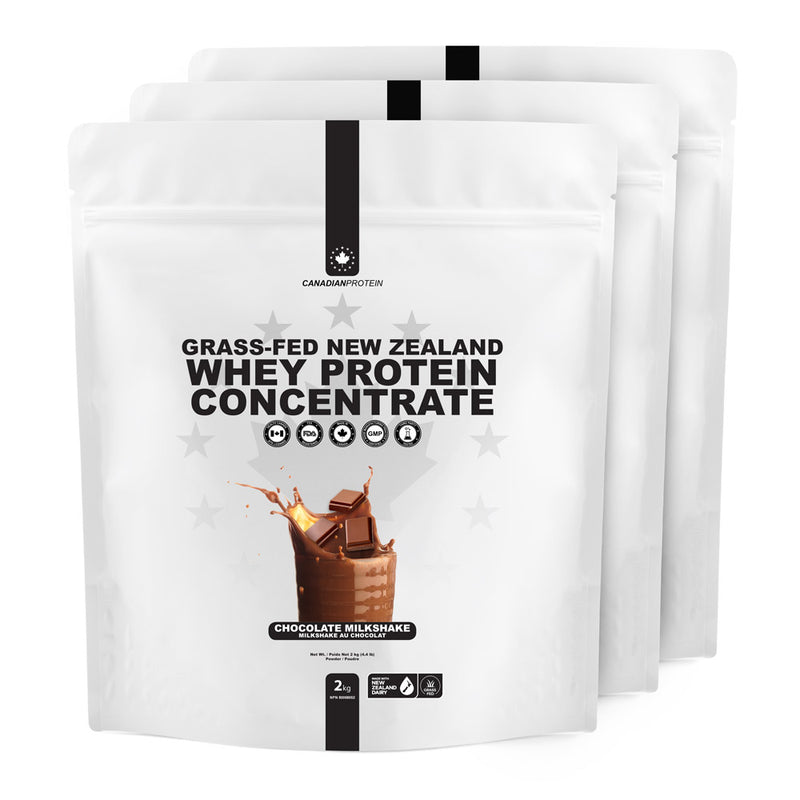 Grass-Fed New Zealand Whey Protein Concentrate