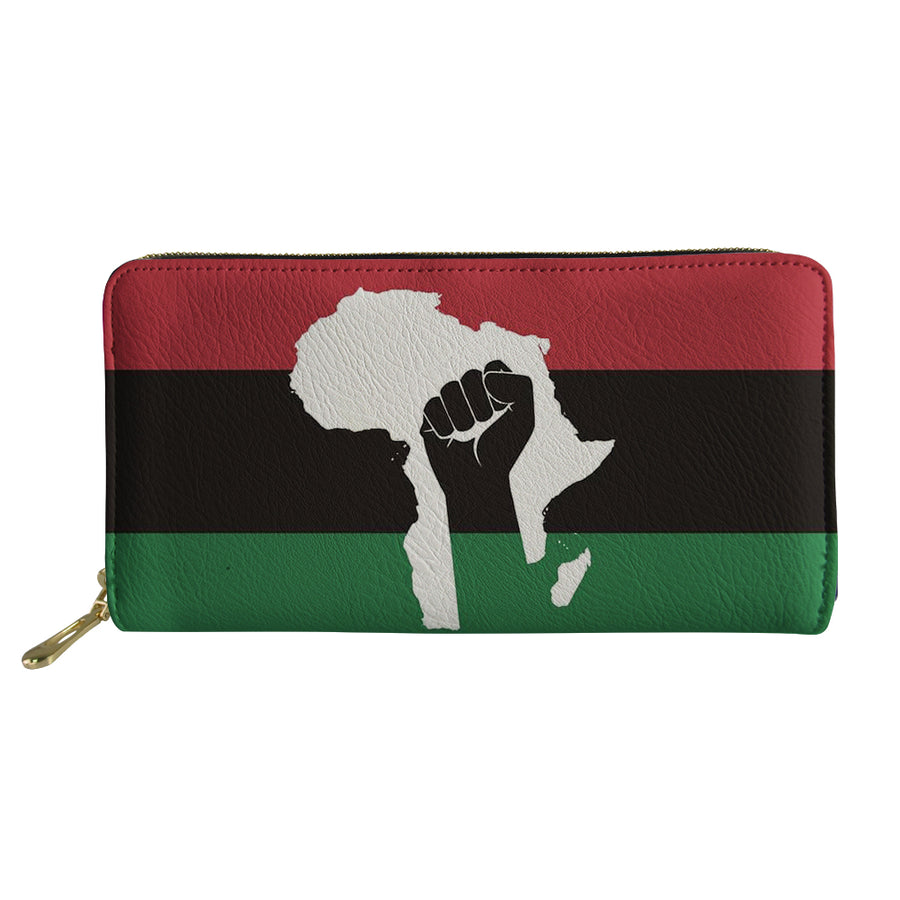 African Nation - Vegan Leather Wallet