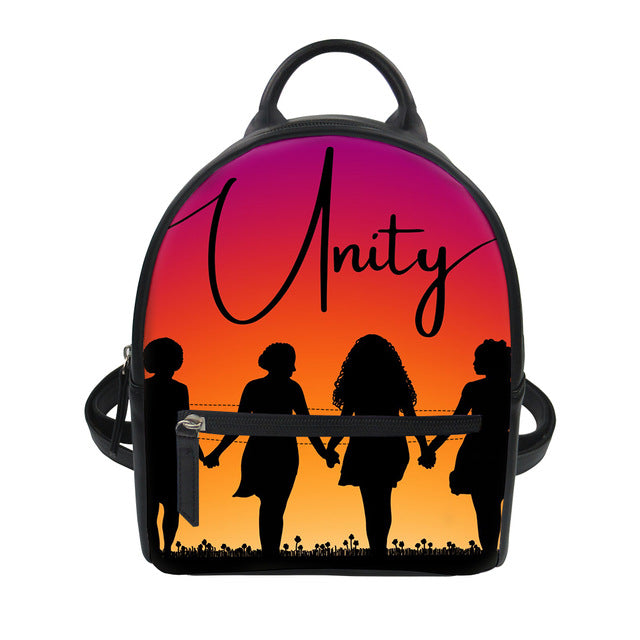 Unity - Leather Mini Backpack